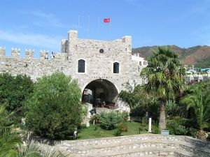 http://commons.wikimedia.org/wiki/File:Marmaris_Castle.jpg