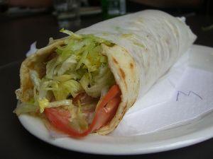http://commons.wikimedia.org/wiki/File:Souvlaki_sandwich.jpg